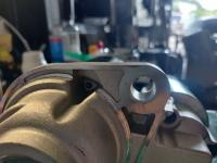 """Bosch SRO425 Starter grind clearence .123"""" thick."""