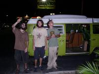 3 Hippies and a Green Bus