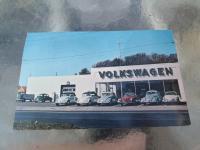 Autobahn Motors postcard - Trenton, NJ