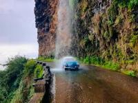 Vintage waterfall