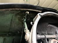 70 Brazil Bus-Clutch Cable Put a Hole in my Gas Tank