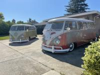 Couple 62's out of the garage in the California sun, and the 66 in the garage still