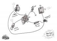 Hard  start relay diagram