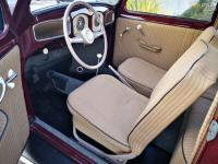 L51 Bordeaux Red Split Beetle interior