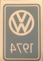 1974 decal