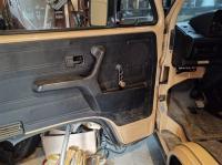 Bmw door pull/map pockets in a vanagon