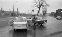 Police controll, Budapest, 70's