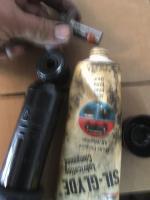 Monroe air shock install.