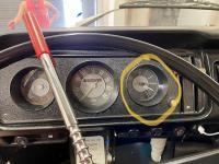 '71 Bus Dash Clock (12 V)