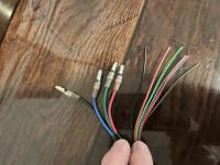 Tachometer wire gauges