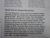ballast test