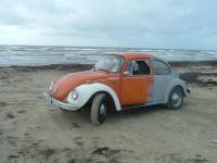 My Bug on the beach(Galveston Island, TX)