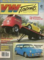 November 1984 VWTrend's