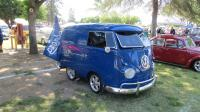 """Split """"Special Model"""" Buses at Madera, CA VW Spring Fling (26th Annual) Sunday, May 16, 2021"""