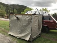 Arb side tent and winnerwell stove