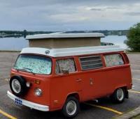 Strange VW Camper