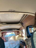 Inside strange vw camper