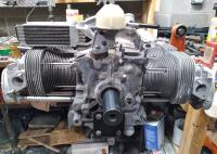 63 Notch Barn Find Engine Assembly