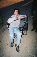 EB kicking back at the BBB 2005 event.