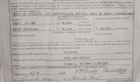 Gretchen Service Insurance and orig engine number