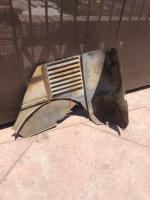 Barndoor bus scrap metal