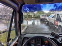 Clear windshield- where's the wiper?