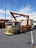 Slammed Bucket truck at OCTO