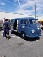 Restored 1950 Panel - Radium Bus