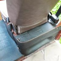 Seat pedestal trim