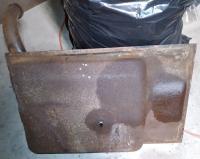 63 Notch Barn Find Gas Tank