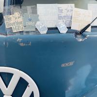 1957 Dove Blue Double Door