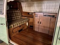 1979 Westfalia Deluxe interior in a 1971 westy
