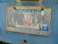License Plate Frame Johnson Pacific Oakland