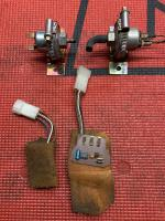 VW Syncro front locker components
