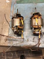 Ambulance fan motors