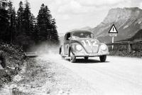 Split Beetle racing in Austria 1950
