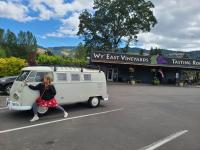 """""""The Toaster"""" at Wy'East Vineyards, Hood River, Oregon"""