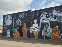 The Sucher & Sons Star Wars Shop in Aberdeen, OR