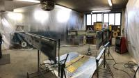 57 single cab repair from austria dropgates Paint