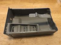 Powder coated bus ashtray