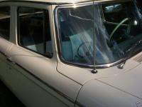 1961 Studebaker with stainless weatherstrip trim