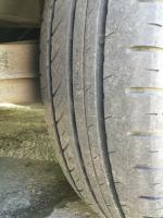Nokian tire star worn out : driver side