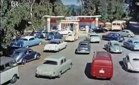 """Oval Beetles and Barndoors in """"The Three from the Filling Station"""" (1956)"""