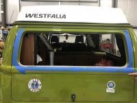 Olive new rear window seal