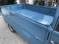 57 single cab repair from Austria paint dropgates emblem
