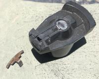 Distributor cap and rotor failure, burned, carbon arc, bad, damage