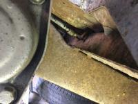 brake cable through frame