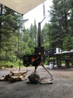 Father's day camping