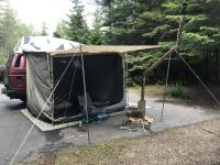 Fathers day camping