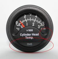 DeG CHT gauge